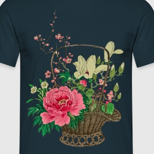 Japanese Ikebana T-Shirts - Men's T-Shirt