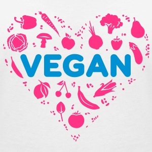 The Funky Vegan - Women's V-Neck T-Shirt