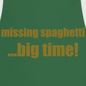 Missing spaghetti .... big time! - Cooking Apron