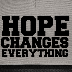 Hope Changes Everything Caps & Mützen - Snapback Cap
