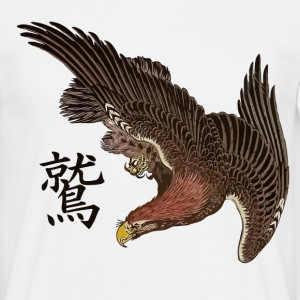 Japanese Eagle with Kanji T-Shirts - Men's T-Shirt