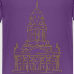 French Cathedral Berlin Shirts - Teenage Premium T-Shirt