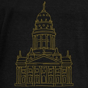 French Cathedral Berlin Hoodies & Sweatshirts - Women's Boat Neck Long Sleeve Top