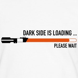 Dark Side Loading T-Shirts - Männer Kontrast-T-Shirt