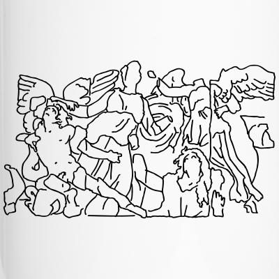 Pergamon-Altar Berlin T-Shirt Museumsinsel Athene