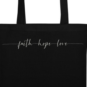 Faith - Hope - Peace - Stoffbeutel