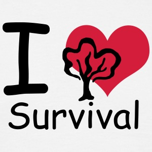 I love Survival T-Shirts - Männer T-Shirt