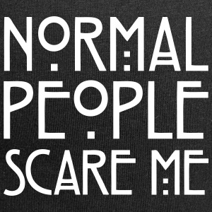Normal People Scare Me Casquettes et bonnets - Bonnet en jersey