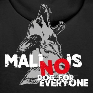 No Dog for everyone Pullover & Hoodies - Männer Premium Hoodie