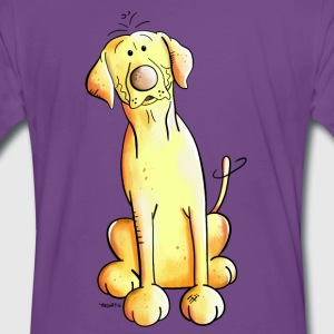 Golden Labrador Retriever T-skjorter - Premium T-skjorte for menn
