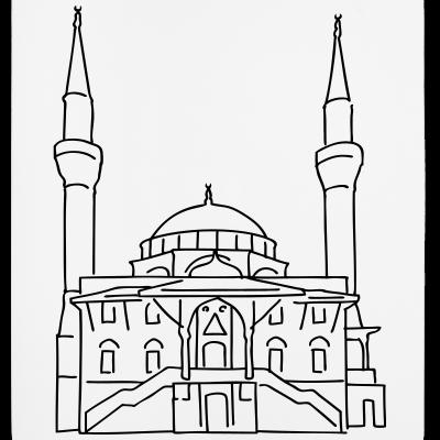 Sehitlik Moschee Berlin T-Shirt