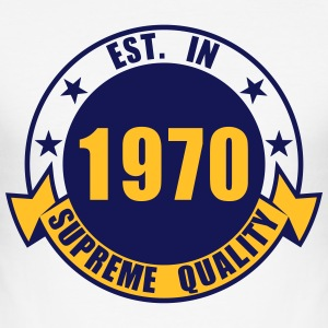 1970 Supreme T-shirts - slim fit T-shirt