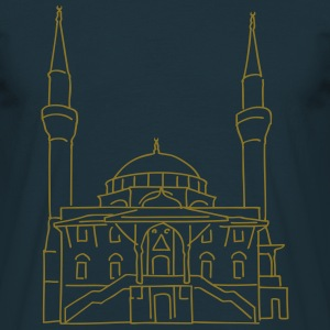 Sehitlik Mosque Berlin T-Shirts - Men's T-Shirt