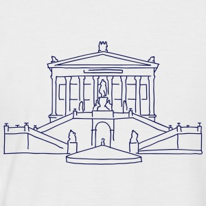 Alte Nationalgalerie T-Shirts - Männer Baseball-T-Shirt