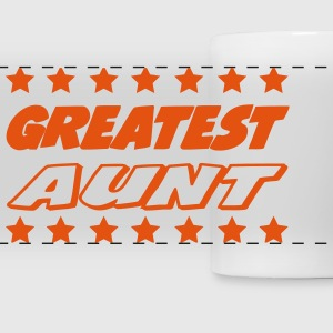 Greatest aunt Mugs & Drinkware - Panoramic Mug