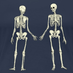 2skeletons T-Shirts - Frauen Premium T-Shirt