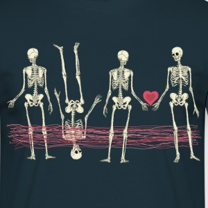 skeletons-lovemiracle T-Shirts - Männer T-Shirt