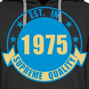 1975 Supreme Hoodies & Sweatshirts - Men's Premium Hooded Jacket