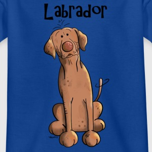 Funny Brown Labrador Retriever  Shirts - Kids' T-Shirt