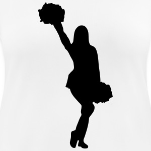 Cheerleader Girl T-Shirts - Frauen T-Shirt atmungsaktiv