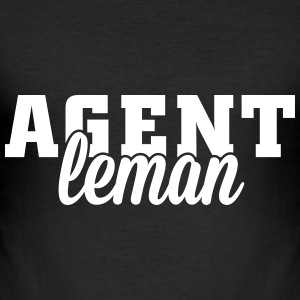 Agent T-Shirts - Men's Slim Fit T-Shirt