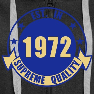 1972 Supreme Hoodies & Sweatshirts - Women's Premium Hooded Jacket