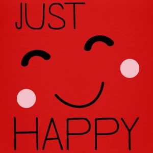 Just Happy Smiley T-Shirts - Kinder Premium T-Shirt