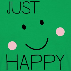 Just Happy Smiley T-Shirts - Männer T-Shirt