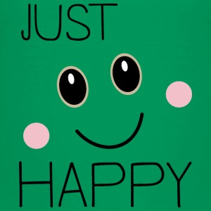 Bare glad smiley T-shirts - Børne premium T-shirt