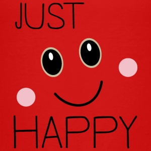 Just happy smiley Shirts - Teenage Premium T-Shirt