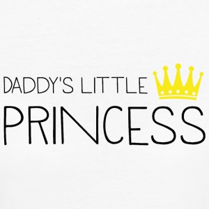 Daddy's little Princess T-Shirts - Frauen Bio-T-Shirt