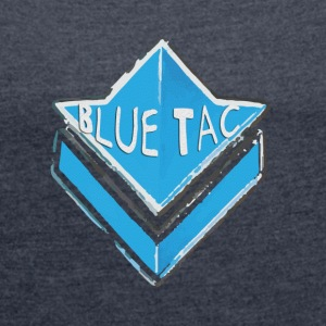 Blue Tac Commander  patjila T-Shirts - Women's T-shirt with rolled up sleeves