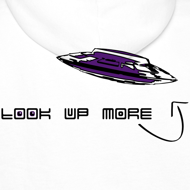 Look Up More - Hoodie | Purple