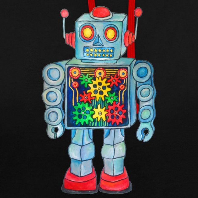 ROBOT Unisex Hoodie