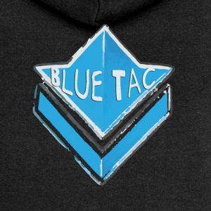 Blue Tac Commander  patjila Hoodies & Sweatshirts - Women's Premium Hooded Jacket