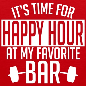 it's time for happy hour at my favorite bar A 1c Tanktops - Mannen Premium tank top