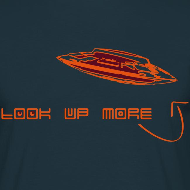 Look Up More - T | Orange