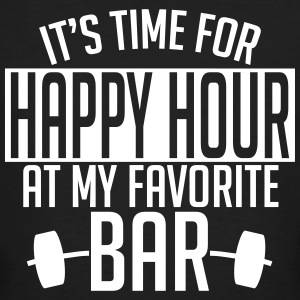 it's time for happy hour at my favorite bar A 1c Tee shirts - T-shirt bio Homme