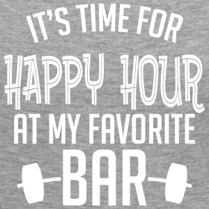 it's time for happy hour at my favorite bar B 1c Manches longues - T-shirt manches longues Premium Femme