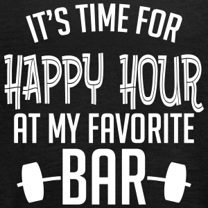 it's time for happy hour at my favorite bar B 1c Tops - Vrouwen tank top van Bella