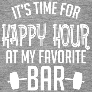it's time for happy hour at my favorite bar B 1c Topy - Tank top damski Premium