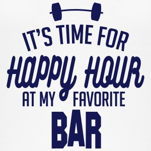 it's time for happy hour at my favorite bar C 1c Tops - Vrouwen bio tank top