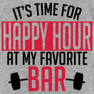 it's time for happy hour at my favorite bar A 2c Tee shirts - T-shirt Premium Ado