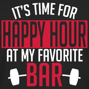 it's time for happy hour at my favorite bar A 2c Manches longues - T-shirt manches longues Premium Homme