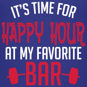 it's time for happy hour at my favorite bar B 2c Shirts - Teenage Premium T-Shirt