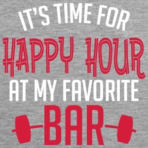 it's time for happy hour at my favorite bar B 2c Tanktops - Mannen Premium tank top