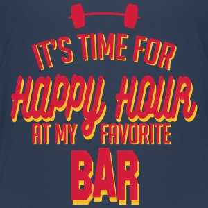 it's time for happy hour at my favorite bar C 2c Shirts - Kids' Premium T-Shirt