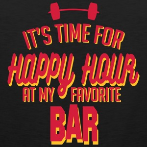it's time for happy hour at my favorite bar C 2c Tank Tops - Tank top premium hombre