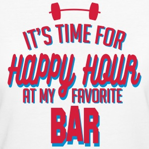 it's time for happy hour at my favorite bar C 2c T-Shirts - Women's Organic T-shirt