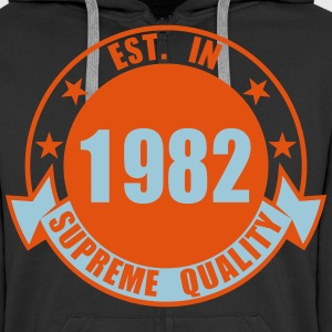 1982 Supreme Hoodies & Sweatshirts - Men's Premium Hooded Jacket